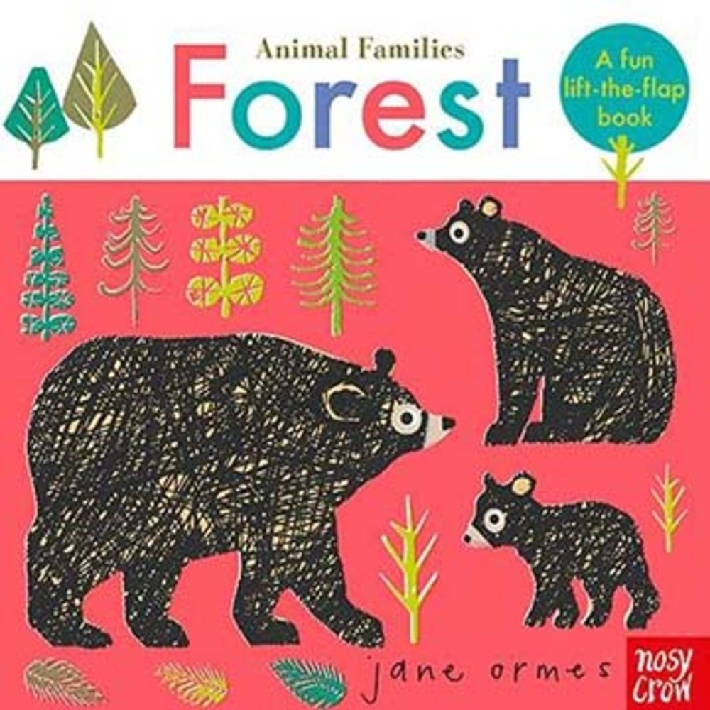 Animal Families:Forest 動物家族:森林動物趣味翻翻書