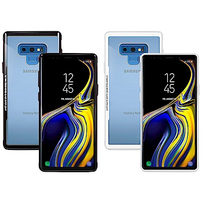 Metal-Slim Samsung Galaxy Note9 強化鋼化玻璃保護殼