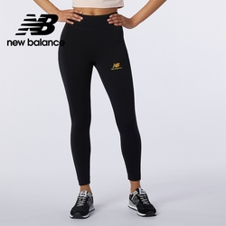 [New Balance]兩側邊條緊身褲_女性_黑色_AWP13501BK
