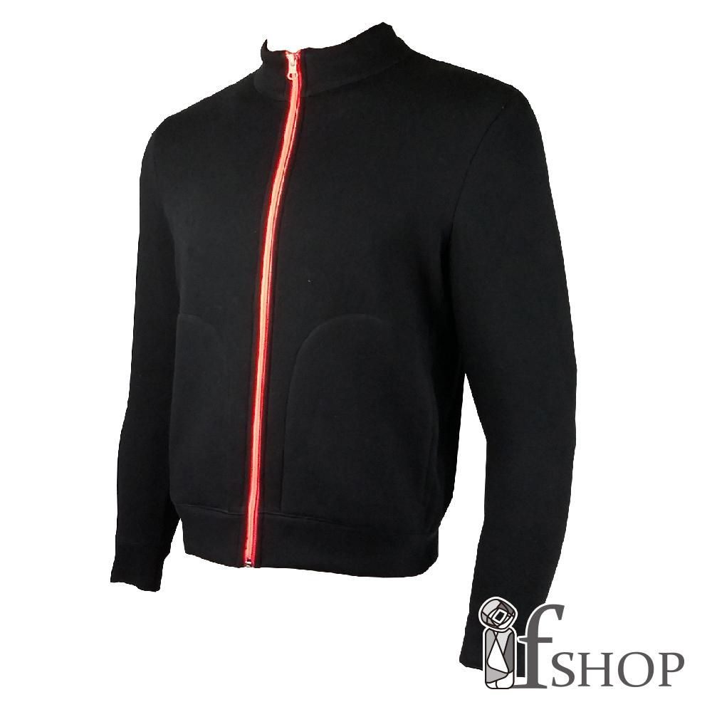 Storm cotton透氣防潑易去污機能刷毛外套(黑色)