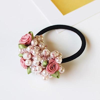 [時時樂限定]Hera赫拉 蝴蝶結花朵緞帶系列髮圈-多款選