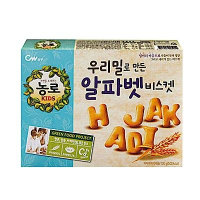 韓國CW 字母餅乾(100g)