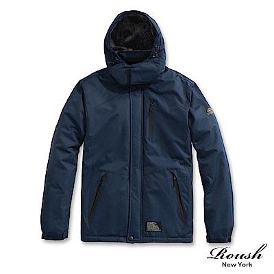 Roush (情侶款)機能性保暖鋪毛衝鋒大衣(3色)