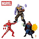 Hasbro 孩之寶-漫威電影10周年紀念-傳奇6吋收藏人物組-鋼鐵人、薩諾斯與奇異博士