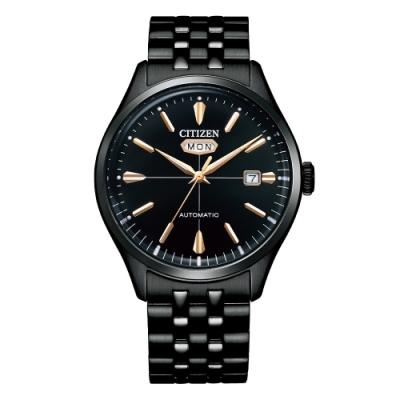 CITIZEN 星辰Mechanical經典C7商務機械腕錶NH8395-77E