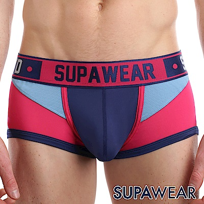 SUPAWEAR Bionic系列超彈性型男四角內褲(海藍色)