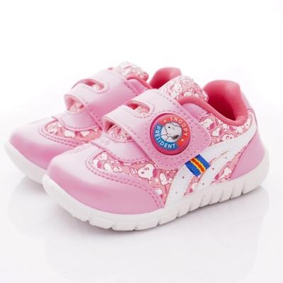 SNOOPY童鞋 史努比電燈運動鞋款 NI5113粉紅(中小童段)