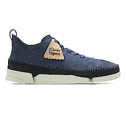 Clarks TrigenicFlex 男休閒鞋 藍