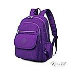 [絕版暢貨] Kiiwi O! 實用機能系列後背包 TERESA 淺紫