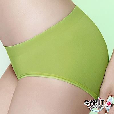 推EASY SHOP-iMEWE 中低腰三角褲(蘋果綠)