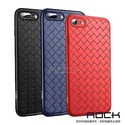 【ROCK】iPhone 7/8 Plus 5.5吋BV纖薄編織手機保護套