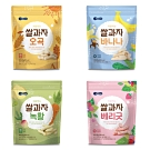 韓國 【BEBECOOK】 嬰幼兒米棒4入組(穀物、香蕉、蔬菜、綜合莓果)