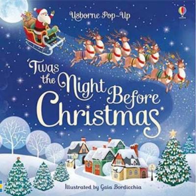 Pop-Up Twas The Night Before Christmas 聖誕節的前夕立體書