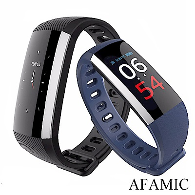 【AFAMIC 艾法】M3-PLUS彩色遙控自拍心率GPS運動手環 運動手錶