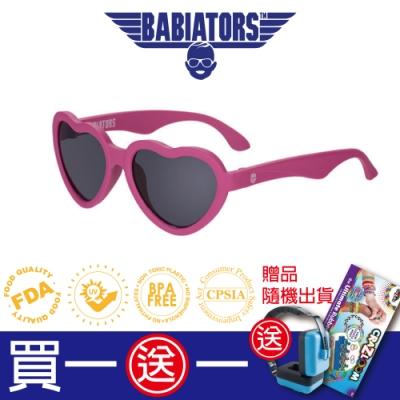 【美國Babiators】造型款系列嬰幼兒太陽眼鏡-桃紅甜心 0-5歲