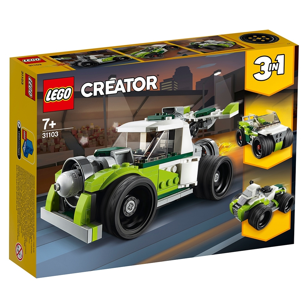 樂高LEGO 創意大師系列 - LT31103 火箭卡車