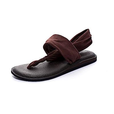 ROCKY BEAR 素色瑜珈墊夾腳涼鞋-咖(女)