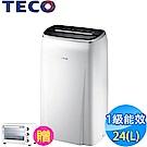TECO東元 24L 1級負離子清淨除濕機 MD2401RW
