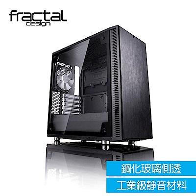 【Fractal Design】 Define C TG 鋼化玻璃透側電腦機殼