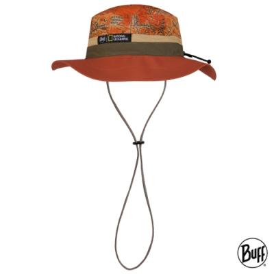 【西班牙BUFF】 可收納圓盤帽-國家地理頻道-鐵鏽遊牧