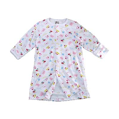 嬰兒薄款護手長睡袍  k51172 魔法Baby