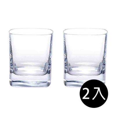 義大利Luigi bormioli 正方形威士忌杯(2入禮盒組)