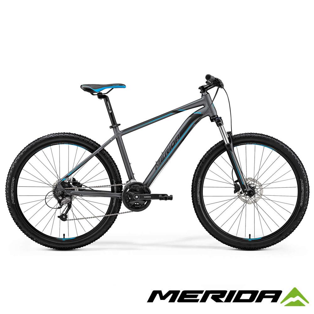 《MERIDA》美利達 中大輪徑越野登山車 Big.7 40D 灰銀 2019