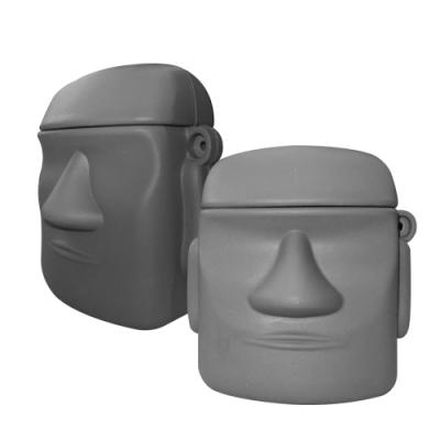 AirPods 1/2 石像造型 藍芽耳機 保護套