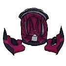 SOL安全帽 SF3 全罩安全帽內襯組 (頂襯加耳襯)