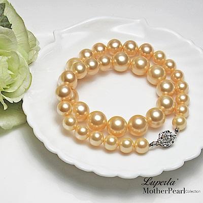 大東山珠寶 第一夫人 南洋貝珠香檳金寶塔