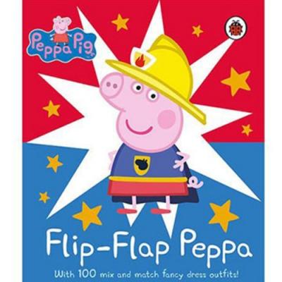 Peppa Pig:Flip Flap Peppa 佩佩豬變裝秀硬頁書