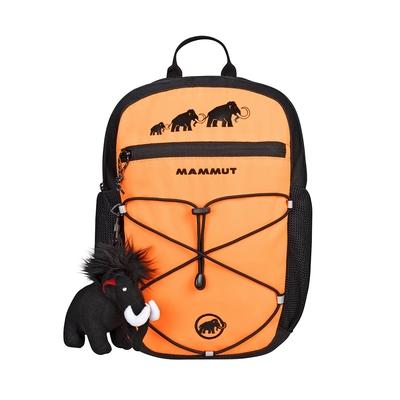 【Mammut】First Zip 4L 多用途兒童後背包 橘/黑 #2510-01542