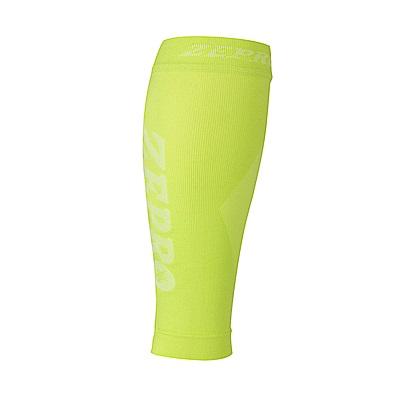 【ZEPRO】男女機能壓縮運動小腿套-螢光綠