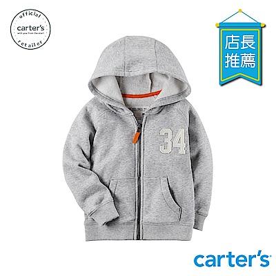 Carter's台灣總代理 經典素色連帽外套