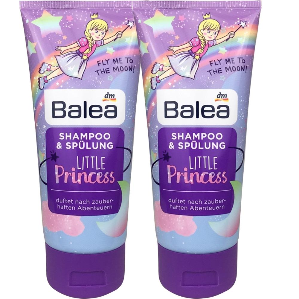 Balea 芭樂雅小公主洗護二合一兒童洗髮乳兩入組(200ml*2)