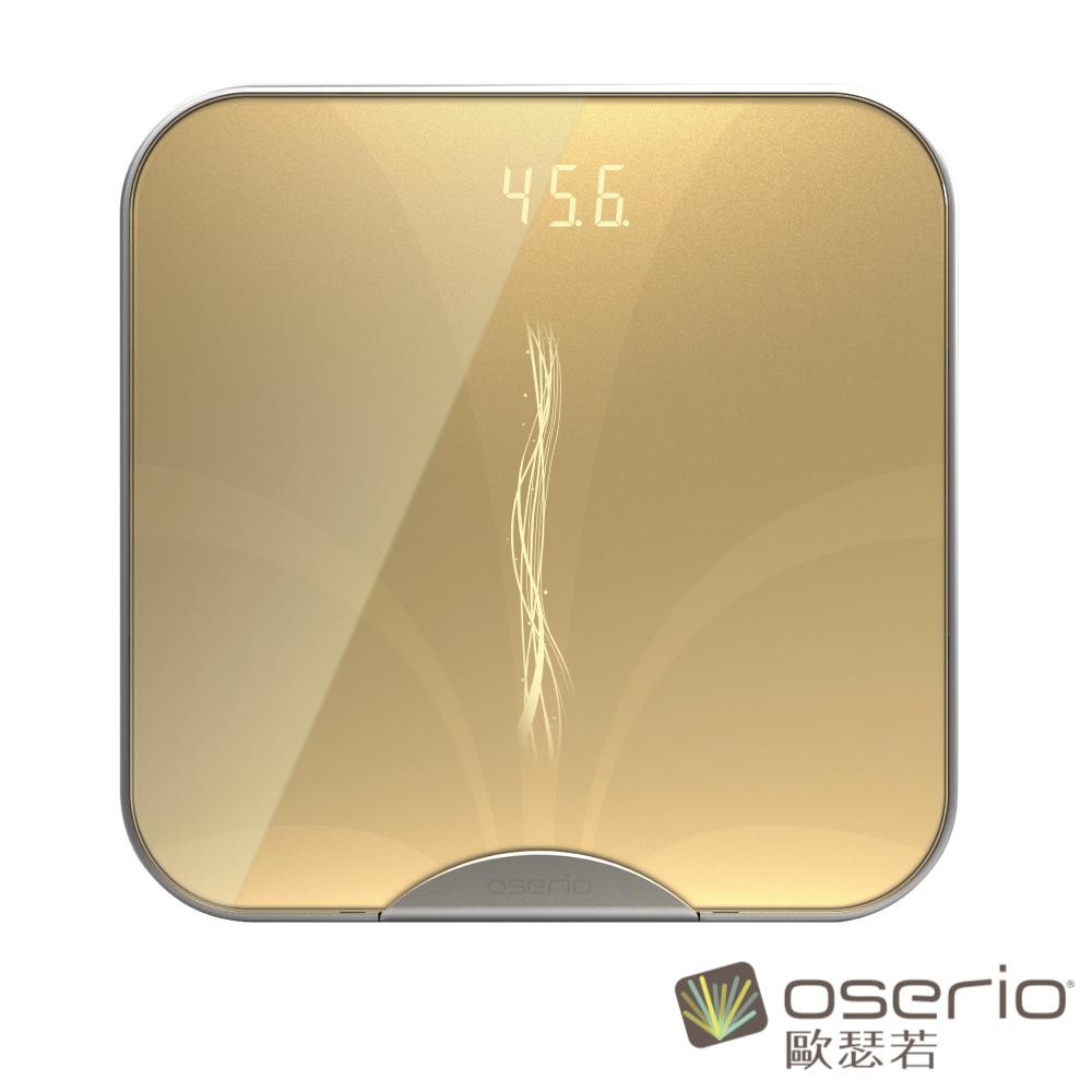 oserio歐瑟若 無線星光智慧體脂計 (香檳金FTG-315GD)