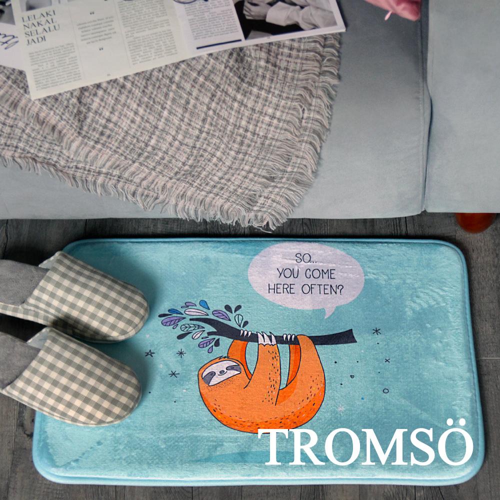 TROMSO 簡單生活超柔軟地墊-M90俏皮趴趴猴 @ Y!購物