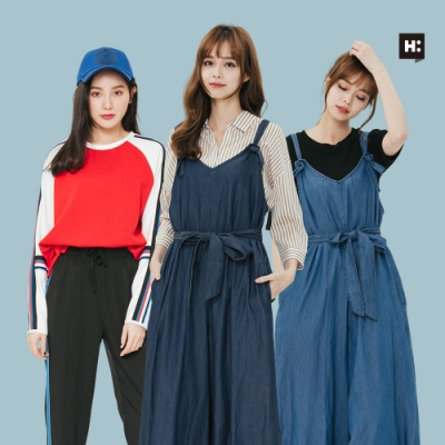 [時時樂] H:CONNECT 韓國品牌 女裝 -精選造型長褲 (快)