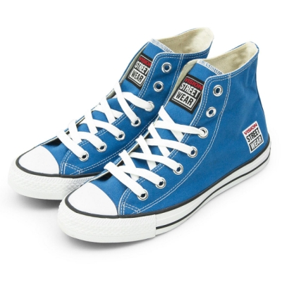 VISION STREET WEAR 經典帆布鞋 藍 V22010