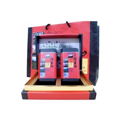 【新造茗茶】阿里山特級高山茶鴻運禮盒(150g*2罐)