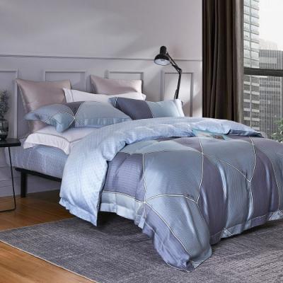 Ania Casa 克利 天絲 100% TENCEL 雙人鋪棉兩用被套床包四件組