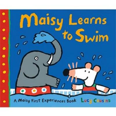Maisy Learns To Swim 波波學游泳精裝書