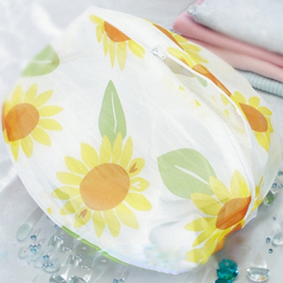 UdiLife 花漾細網洗衣袋丸型-35cm -12入