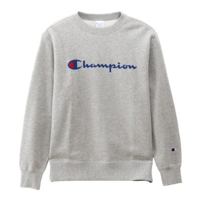 Champion Basic Logo 經典款大學Tee 灰色