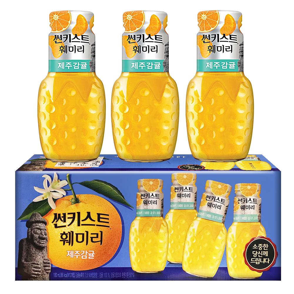 Sunkist香吉士 濟州島橘子汁(180mlx12瓶)