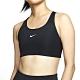 NIKE 運動內衣 中度支撐 明星款 跑步 健身 有氧 瑜珈  背心 黑 女款 BV3637010 AS SWOOSH BRA PAD product thumbnail 1