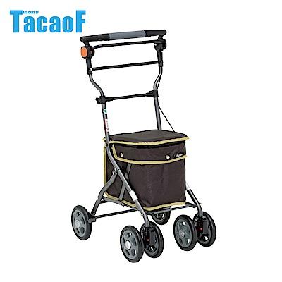 日本TacaoF幸和 中型重量款購物助步車-黑