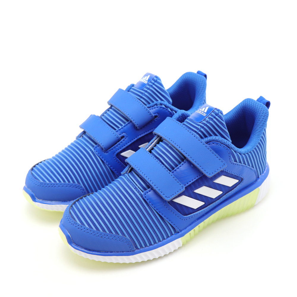ADIDAS-中童慢跑鞋BD7173-藍