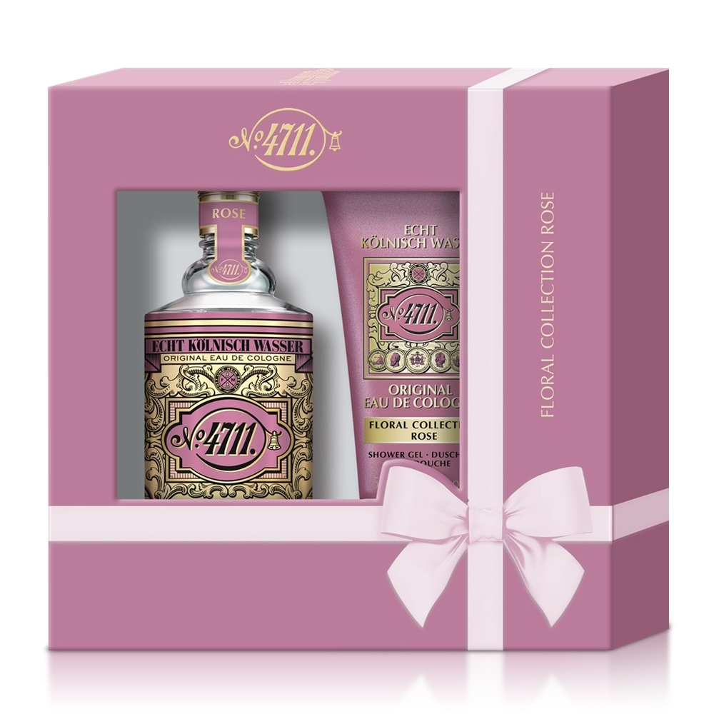 No.4711 Floral Cologne Rose 玫瑰古龍水禮盒