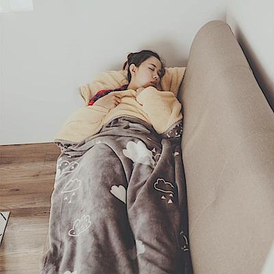 絲薇諾 朵朵 法蘭羊羔絨睡袋毯(1.3kg)